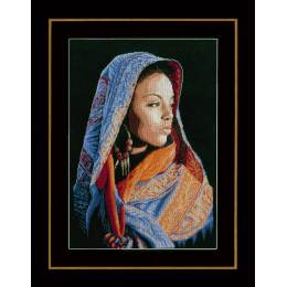 Kit au point compté dame africaine  - 4