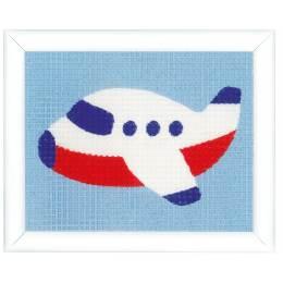 Kit tapisserie petit avion - 4