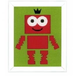 Kit tapisserie robot - 4