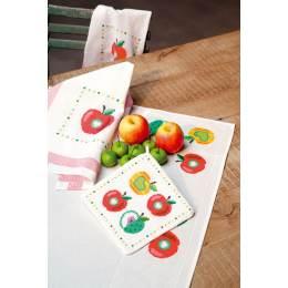 Kit manique pommes colorées lot de 2 - 4