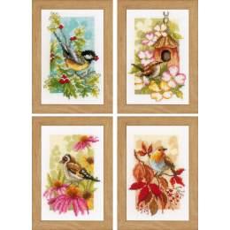 Miniatures 4 saisons aida lot de 4 - 4