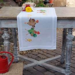 Kit chemin de table famille de poule - 4