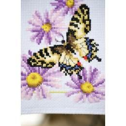 Chemin de table aïda papillons - 4