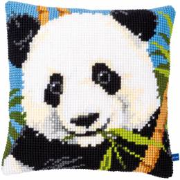 Kit coussin au point de croix panda - 4