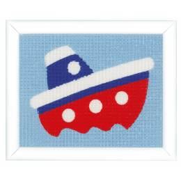 Kit tapisserie petit bateau - 4