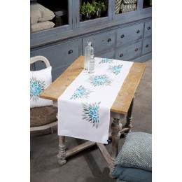 Kit chemin de table fleurs modernes - 4