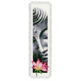 Marque-pages lotus & bouddha aida lot de 2 - 4