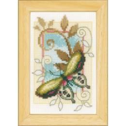 miniatures papillons déco aida lot de 3 - 4