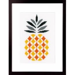 Kit au point compté ananas aida - 4