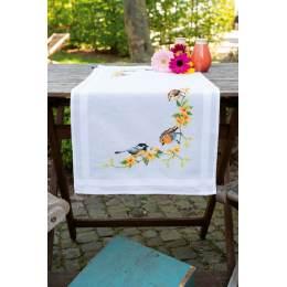 Kit chemin de table oiseaux chanteurs - 4