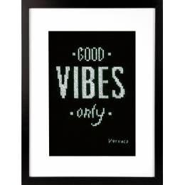 Kit au point compté Good vibes only aida - 4