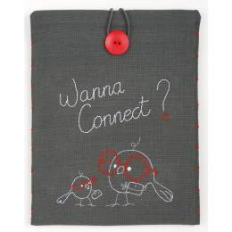 Kit étui pour tablette wanna connect? 21x26 cm - 4