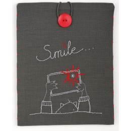 Kit étui pour tablette souriez... 21x26 cm - 4
