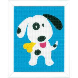 kit tapisserie un chien chouette - 4