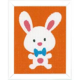 kit tapisserie un lapin chouette - 4