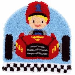 Kit tapis modelé au point noué voiture de course - 4