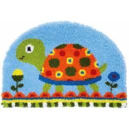 Tapis kit au point noué tortue - 4