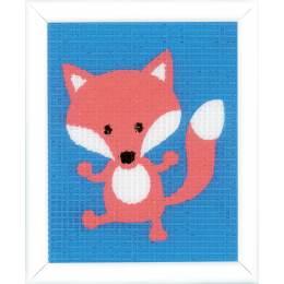 Kit tapisserie renard - 4