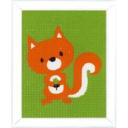 Kit tapisserie ecureuil - 4