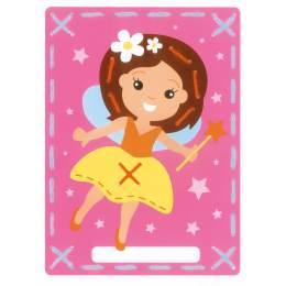 cartes à broder fée et princesse lot de 2 - 4