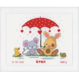 Kit au point compté sous le parapluie - 4