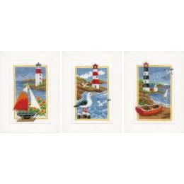 Kit miniature phare lot de 3 - 4