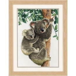 Kit au point compté koala avec bébé - 4
