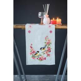 Kit chemin de table birds and blossoms - 4