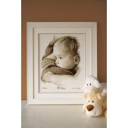 Kit au point compté bébé sur le bras aida - 4