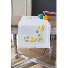 Kit chemin de table fleurs printemps - 4