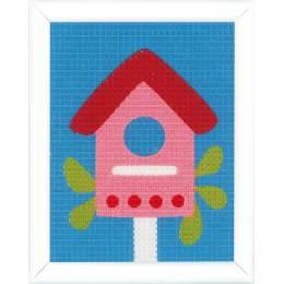 Kit tapisserie nichoir - 4
