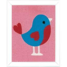 Kit tapisserie oiseau - 4