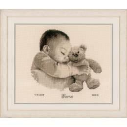 Kit au point compté bébé avec ours - 4
