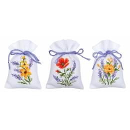 Kit sachet fleurs et lavande lot de 3 - 4
