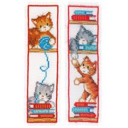 kit marque-pages playful kittens lot de 2 - 4