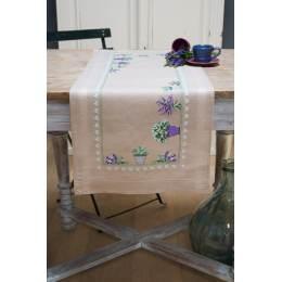 Kit chemin de table lavande - 4