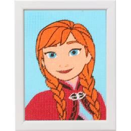Kit tapisserie Disney frozen anna - 4