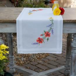 Kit chemin de table fleurs et lavande - 4