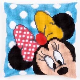 Coussin au point de croix Disney minnie - 4