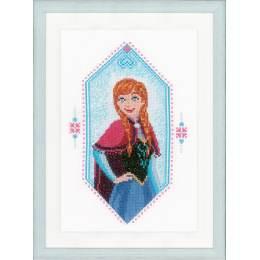 Kit au point compté Disney frozen anna aida - 4