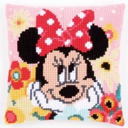 Coussin au point de croix Disney minnie rêvasse - 4