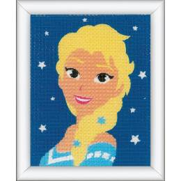 Kit tapisserie Disney frozen elsa - 4