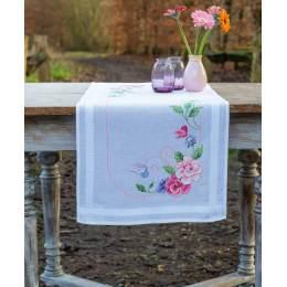 Kit chemin de table fleurs et papillons - 4