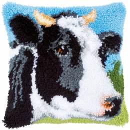 Kit coussin au point noué vache - 4