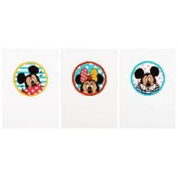 Cartes de vœux Disney mickey & minnie aida lot d 3 - 4