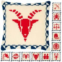 Kit coussin point de croix astrology signs - 4