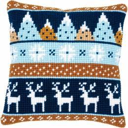 Kit coussin point de croix winter motifs - 4