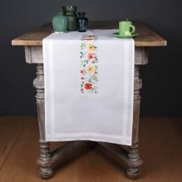 Kit chemin de table fleurs fraîches - 4