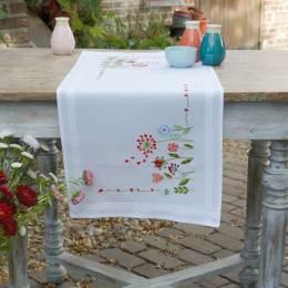 Kit chemin de table fleurs - 4