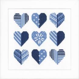 Kit point compté hearts - 4
